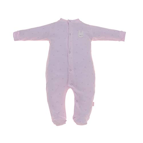 Cambrass 37999, Pelele para Dormir Bebé-Niños, Rosa (Rosa 3), 56