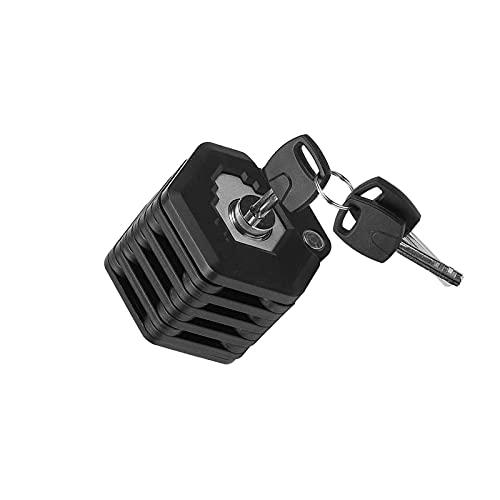 PINGDONGHANG Cerradura inteligente de la bicicleta, cerradura de cadena impermeable del control del teléfono inteligente, cerradura antirrobo de la bici de la alarma de la vibración del alto decibelio