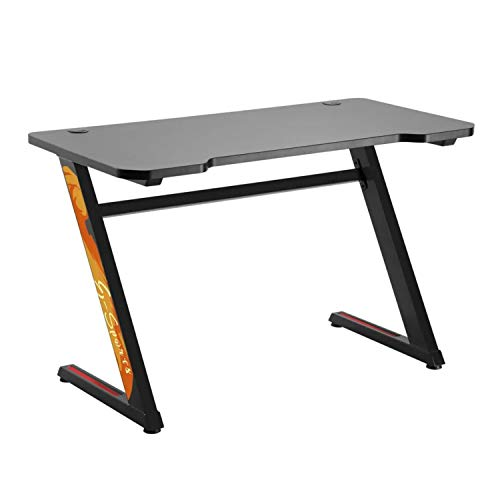 NanoRS RS120 Computer Table Gaming Ergonomic Desk With Cable...