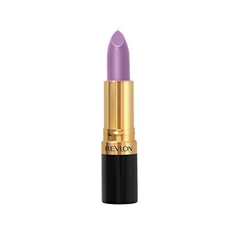 Revlon Super Lustrous Lipstick, with Vitamin E and Avocado Oil, in Purple, Cream Lipstick, 042 Lilac Mist, 0.15 oz
