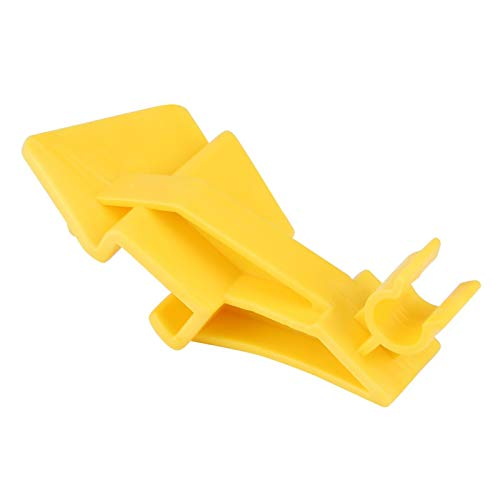 Clip de sujeción del capó - Conexión del retenedor de la abrazadera del clip de sujeción del capó del capó para Ford Fiesta MK7 2008 en adelante
