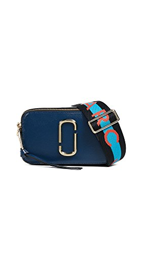 Marc Jacobs Women's Snapshot Camera Bag, Blue Sea Multi, One Size