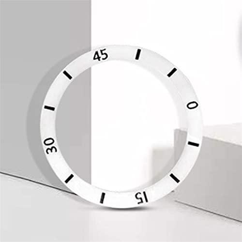 Accesorios de bisel de reloj Accesorios de relojes Bezel Reloj Anillo Hombres y de porcelana para mujer Anillo Diámetro interno Diámetro exterior de las mujeres 38-40mm Evita los arañazos diarios y pr