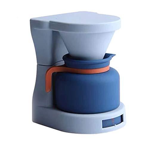 Ekspres do kawy Modelowanie Timer Szlifierka Ekspres do kawy Moka Mini Mechaniczne Zegarki Materiały kuchenne (Color : Blue)
