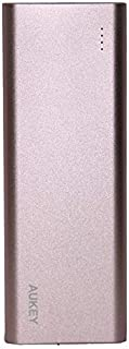 Aukey 20100mAh Quick Charge 3.0 Power Bank - Rose Gold