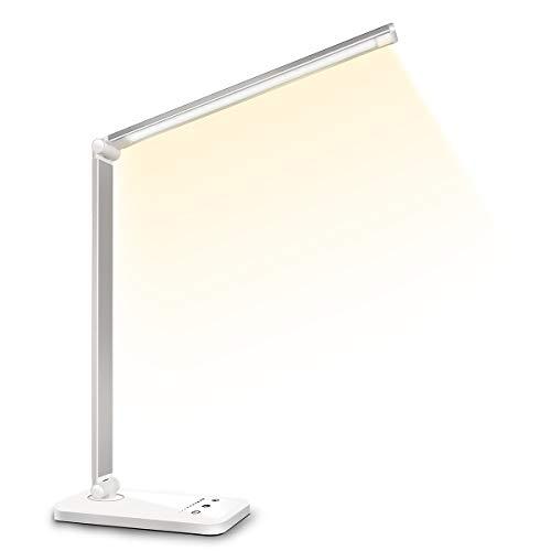 デスクライト LED 電気スタンド 卓上ライト スタンドライト 目に優しい 省エネ 机 テーブルスタンド タッチ...