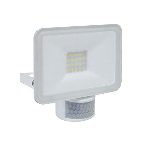 Elro LF501011P Projecteurs et lampadaires d'extérieur, Aluminium, Blanc, 12 x 2 x 12 cm