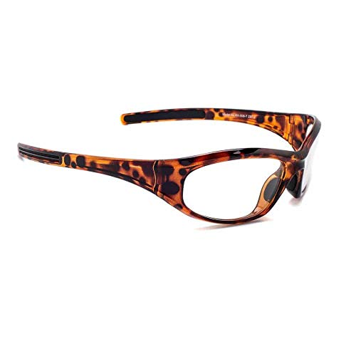 Gafas de radiación Modelo 506, Protección XRAY, Gafas de plomo (Tortuga)