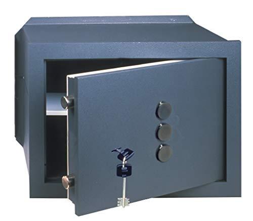 Cassaforte Cisa chiave 2 catenacci combinazione cm 42x30 82210-40