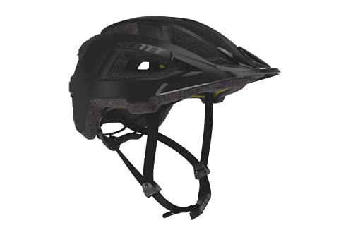 SCOTT 275208 Fahrradhelm Unisex Erwachsene Black Matt, S/M