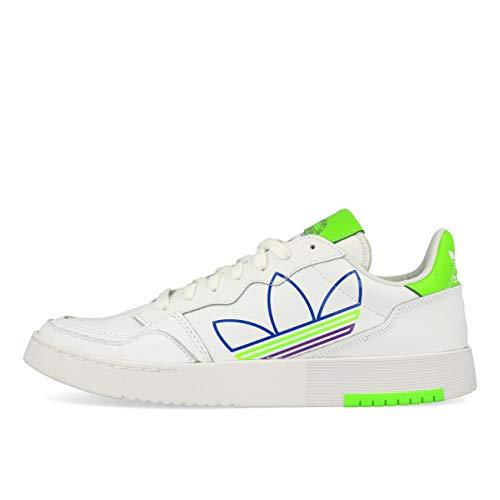 Adidas - Zapatillas deportivas, Hombre, Blanc Violet Blanc, 41.5 EU