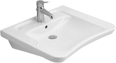 Villeroy & Boch Waschtisch vita Omnia architectura vita 517865 650x550mm Weiß Alpin, 51786501