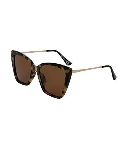 TOSH Gafas de sol para mujer con diseño de tortuga de categoría 3, filtro UV400 (1002030)