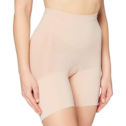 SPANX Shapewear for Women, Tummy Control Power Shorts (Regular and Plus Sizes, Soft Nude, LG)