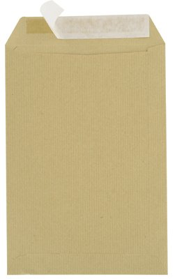 Majuscule - Enveloppes Kraft 90g - Bandes Detachables Ab - 23x32 - Paquet De 50