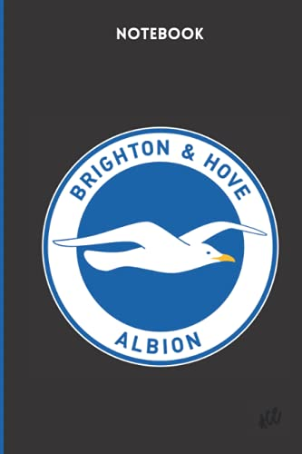Brighton & Hove Albion Notebook: Brighton & Hove Albion Football Club Notebook, Soccer (120 Pages, Blank, 6' x 9')