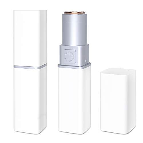 Rasoirs électriques femme,Enlève Rapidement les Poils Indésirables – Rasage Impeccable pour Femme et Fille – La Touche Finale de Votre Maquillage (White)