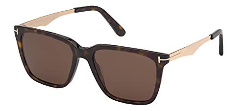 Tom Ford Gafas de Sol GARRETT FT 0862 Dark Havana/Brown 54/17/145 hombre