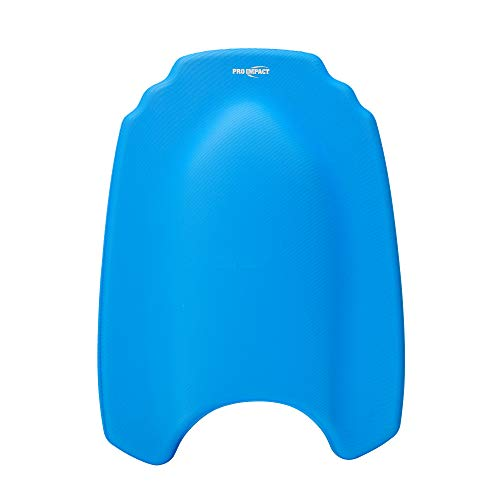 Pro Impact Cell Foam Swim Training Kickboard-Lightweight Swim,Workout,Water Sports Float Swimming KickBoard with Anti-Slip,Ergonomic Handgrip,Swimming Pool Equipments for Adults,Kids,Assorted Colors