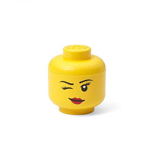 Room Copenhagen-Mini-Cabeza de Almacenamiento Lego, Winking, Color guiño, (40331727)