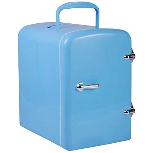 MEETGG Mini refrigerador Antiguo PROPÓSITO Dual Salida con Lock PORTEBLE, para EL Cara Y EL PROPÓSITO Dual Home