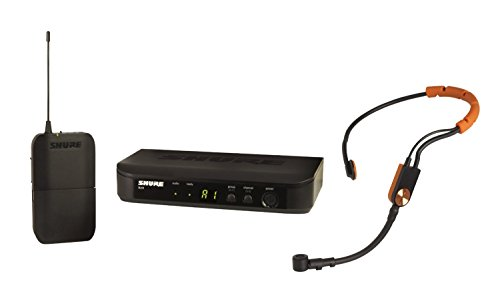 Shure BLX14/SM31 Headworn Wireless System with SM31FH Fitness Headset Microphone, H10