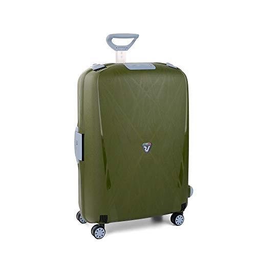 Roncato Light Maleta Grande Verde Militar, Medida: 75 x 53 x 30 cm, Capacidad: 109 l, Pesas: 4.80 kg