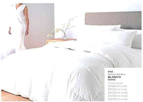 Andatex Relleno Nordico de Fibra 350 Gr/m - 400Gr/m Tacto plumón en liquidación (90cm(150x220cm))