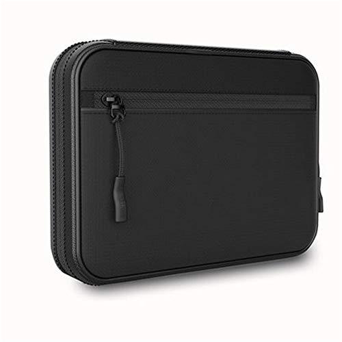 DQM Electronics accessoires organizer tas, power adapter case opslag, kan lading adapter, magnetische geheugenkaart, USB-kabel, munten en andere kleine accessoires. makkelijk mee te nemen.