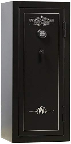 Steelwater Gun Safes - Basic Series 24 Long Rifle Max Capacity - AMBC552320