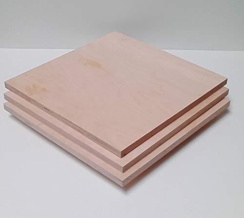 21 mm dikke multiplex platen afmetingen: 100 x 100 mm. Multiplexplaten, houten platen. gewenste afmetingen.