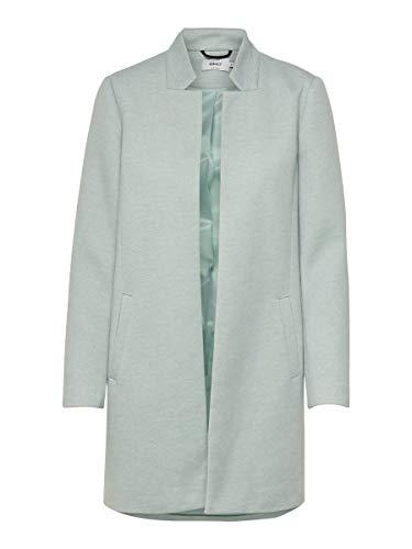 ONLY NOS Damen ONLSOHO COATIGAN OTW NOOS Wollmischungs-Mantel, Lichen, XL