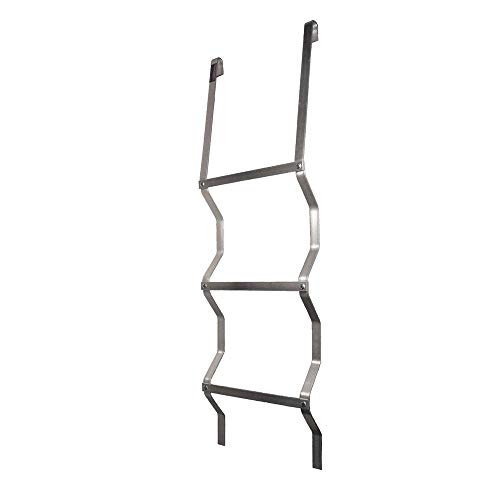 Window Well Escape Ladder for Metal Wells (Hangs on Lip of Well)