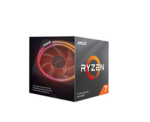 AMD Ryzen 7 3800X Processor (8C/16T, 36MB Cache, 4.5 GHz Max Boost)