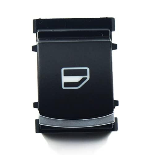 Xiyuncao Interruptor de Ventana de Coche, Interruptor de elevación de Ventana de Coche, para VW CC Caddy Golf Passat Sharan Taciturn 5ND959855 5K0959855