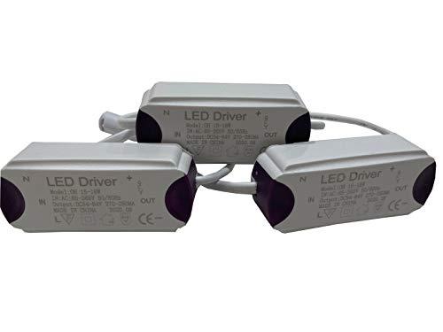 Jandei - 3x Driver downlight led 15W 18W DC - Jandei