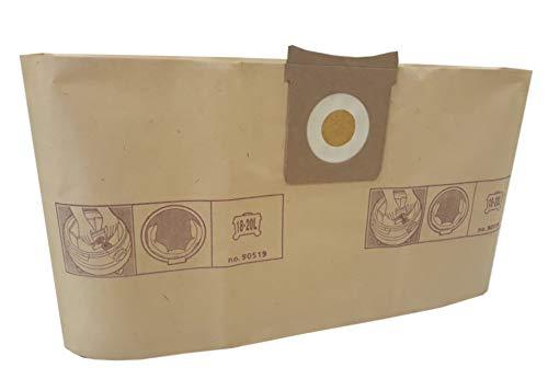 Sac aspirateur Aquavac/Goblin PLUS 1000 / Pro 200. - pochette de 5 sacs papier