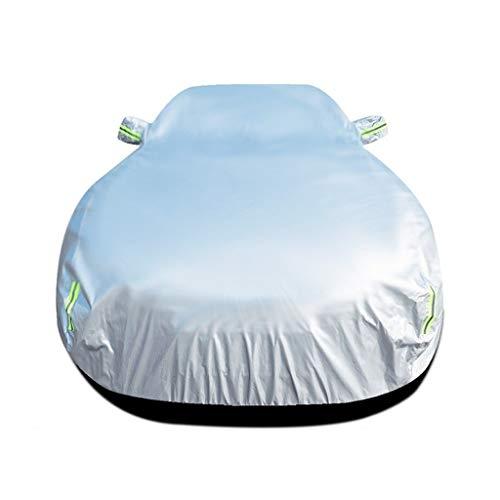 Volledige autohoes compatibel met volkswagen Touareg TDI/Executive/Lux/Sport Full Exterior Covers waterdichte Ademende Zonnescherm autohoes voor auto's Auto Cover Vehicle Cover autodoek