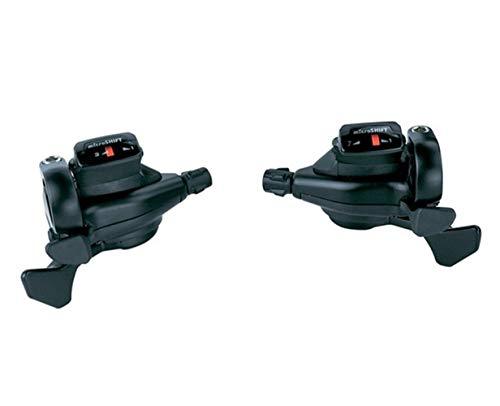 7/8/9 Velocidad MTB Shifter Bicicletas Conjoined Ciclo de la Bicicleta Piezas compatibles para Manetas Cambio (Color : 3X7 Speed Pair)