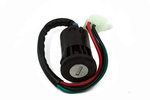 ZXLLNEUR Motorcycle contactslot elektrisch deurslot Kraan Slot for CG125 Motorfiets Accessoires