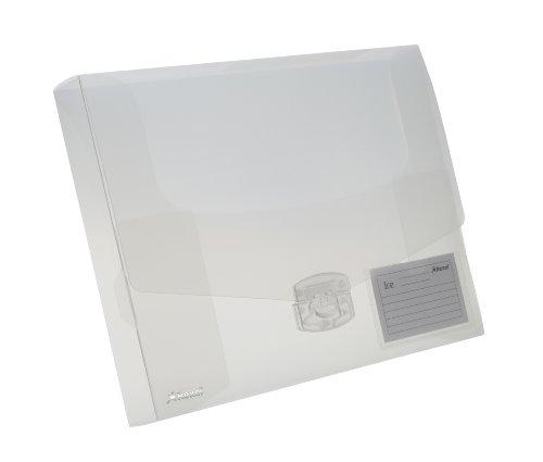 REXEL Scatola portadocumenti Ice 40 mm  - Trasparente - 2102029