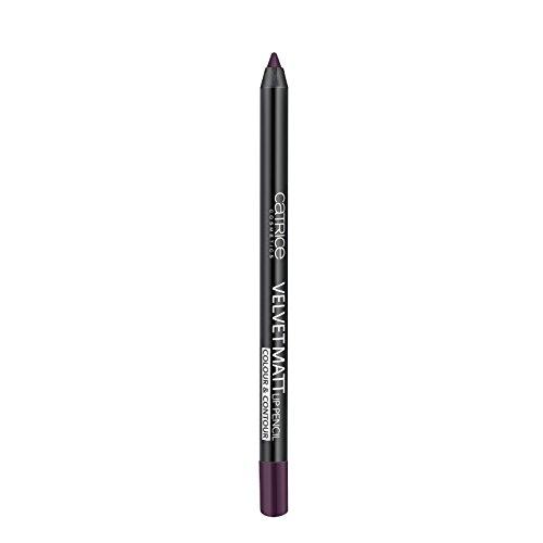 Catrice - Lipliner - Velvet Matt Lip Pencil Colour & Contour - Tasty Aubergine