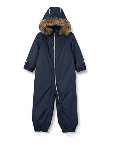 NAME IT Unisex NMNSNOW08 Suit SOLID 1FO Schneekleidung, Dark Sapphire, 80