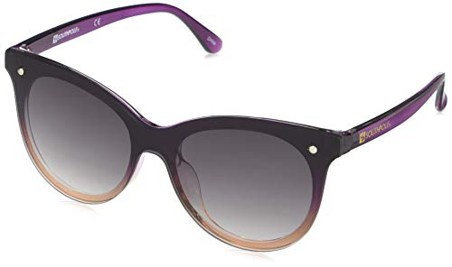 Southpole Women's 1034SP Round Vintage-Inspired Sunglasses with 100% UV Protection, 60 mm