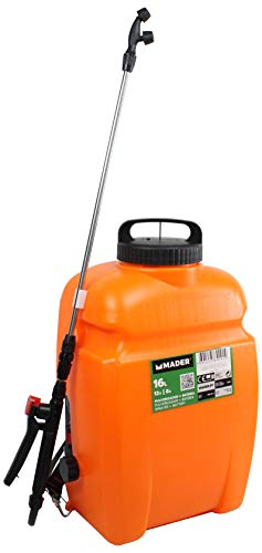 potente para casa Mader Garden Tools 69091 Atomizador inalámbrico, 16 l, 12 V, 8 A.