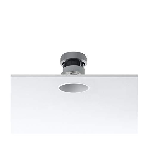 Foco empotrable redondo medio, led, 9,2W, 1 x 630 3000K CRI 90 , 8 x 8 x 8,04 centímetros, color blanco (referencia: 03.4192.B1)