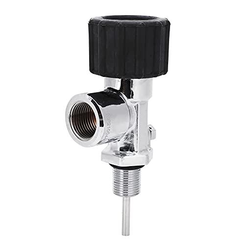 Válvula de cilindro de gas - Válvula de cabeza de botella de gas, Válvula de botella de buceo, Válvula de cabeza de botella de cilindro de gas de alta presión, para botella de buceo Rosca hembra G5/8