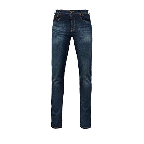 MAC Jeans Herren ARNE Jeans, Blau (Dark Vintage Blue H768), W34/L32