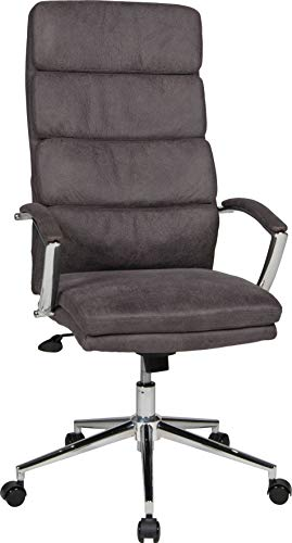 Duo Collection Chefsessel Carlow Buffel-Mikrofaser Anthrazit