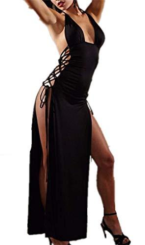 Lencería Picardias Mujer Body Conjunto de Encaje Ropa Pijama Picardías Babydoll a Juego Camisón de Encaje